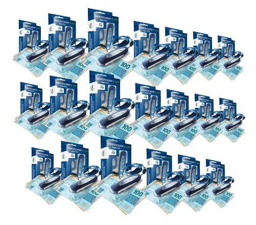 Identificador de notas falsas - Kit com 20 UN